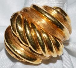 #144 - Yello Gold Fashion Ring WEB