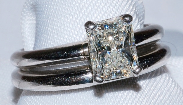 #117 - Solitaire Diamond Engagement Ring