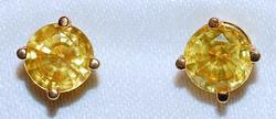 #913 18k Yellow Sapphire - 2.78ct