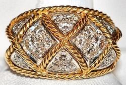 #608 - 18k 1.64ct Diamond Ring