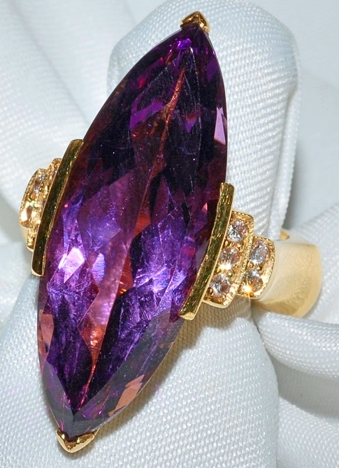 #141 - Amethyst Diamond Ring WEB