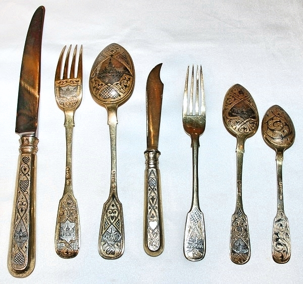 Russian Flatware WEB