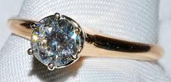#348 - Vintage Diamond Engagement Ring W