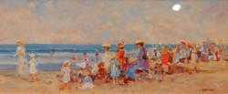"""Summertime"" Oil by R. Hamman"