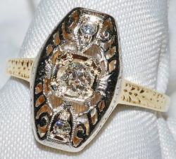 #108 - Art Deco Diamond Ring WEB
