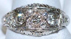 #402 Platinum Diamond Ring