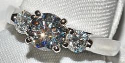 #125 - Diamond Engagement Ring WEB