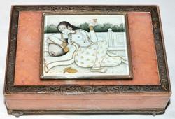 Erotic Rose Quartz & Ivory Box