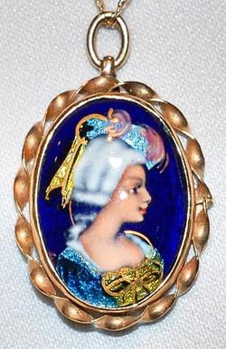 #611 - Antique Limoge Necklace WEB