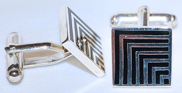 Sterling Silver Cuff Link Set