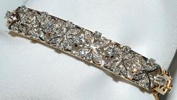 #028 - Diamond Hinged Bangle Bracelet WEB