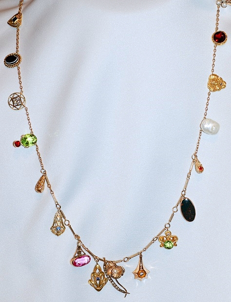 #1048 - Stickpin Necklace
