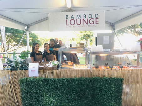 Bamboo Lounge Food Stall
