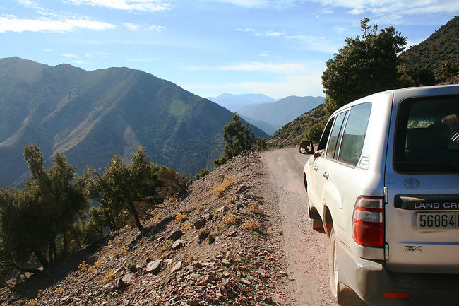 day trip from Marrakech to visit berber villages in Atlas Mountains