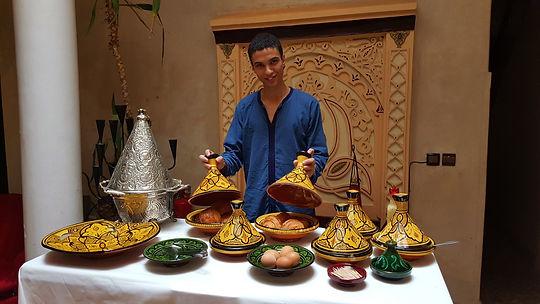 Buffet breakfast at Riad Africa