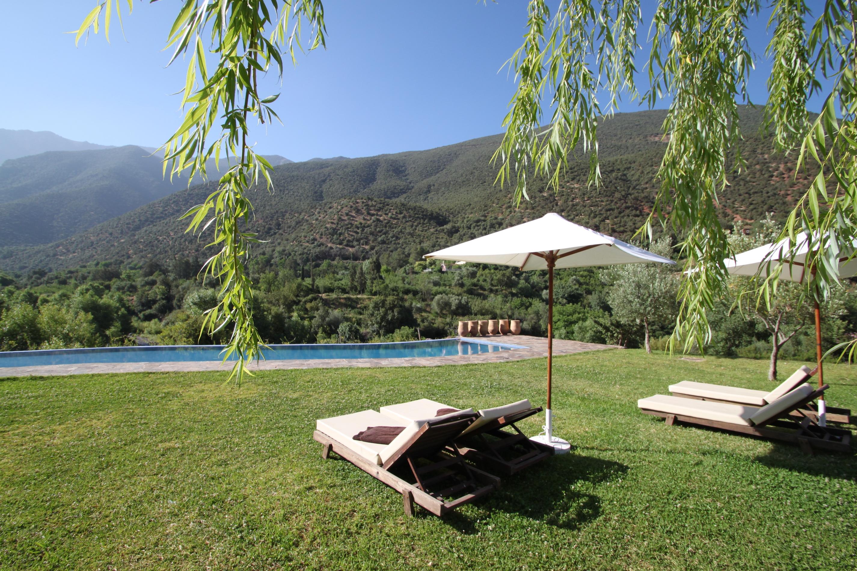 Kasbah Africa - Pool & Gardens