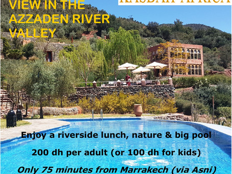 A Day Out at Kasbah Africa - Lunch & Pool Deal