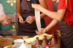 Briwat pastry preparation