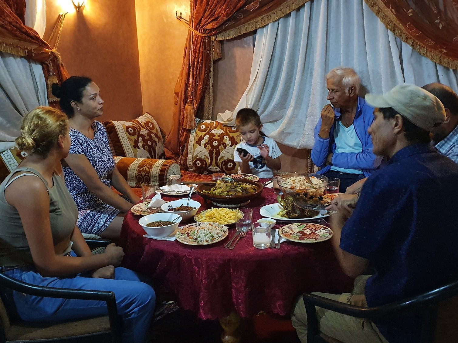 Families welcome at Dar Assarou