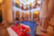 Riad Africa courtyard pool