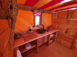 Nkhila Camp Stargazing Tent
