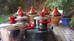 Cous cous pots and tagines