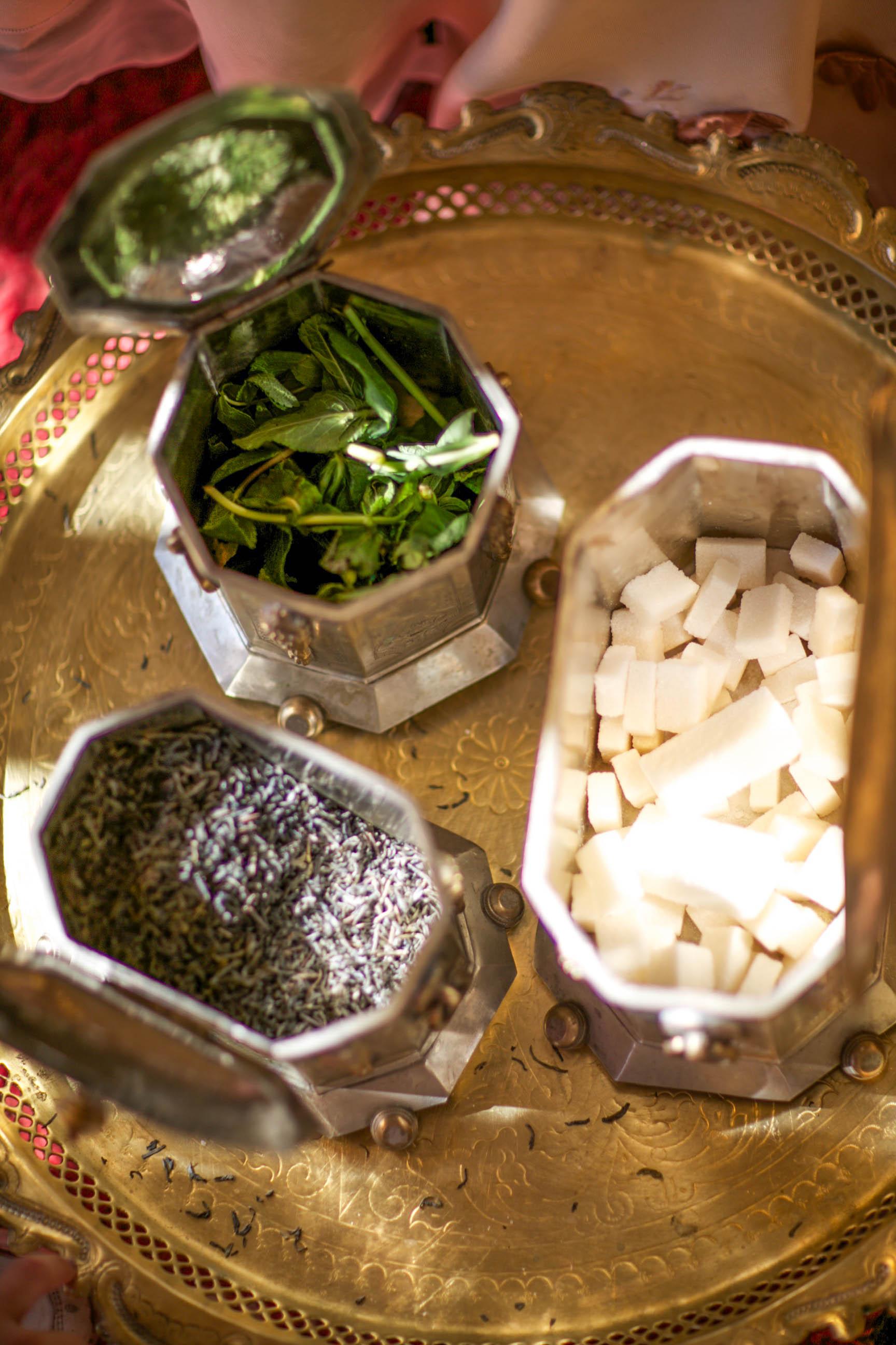 Tea Ceremony Igredients