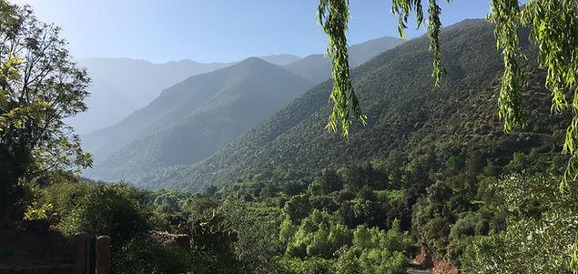 Atlas Mountain View Morocco