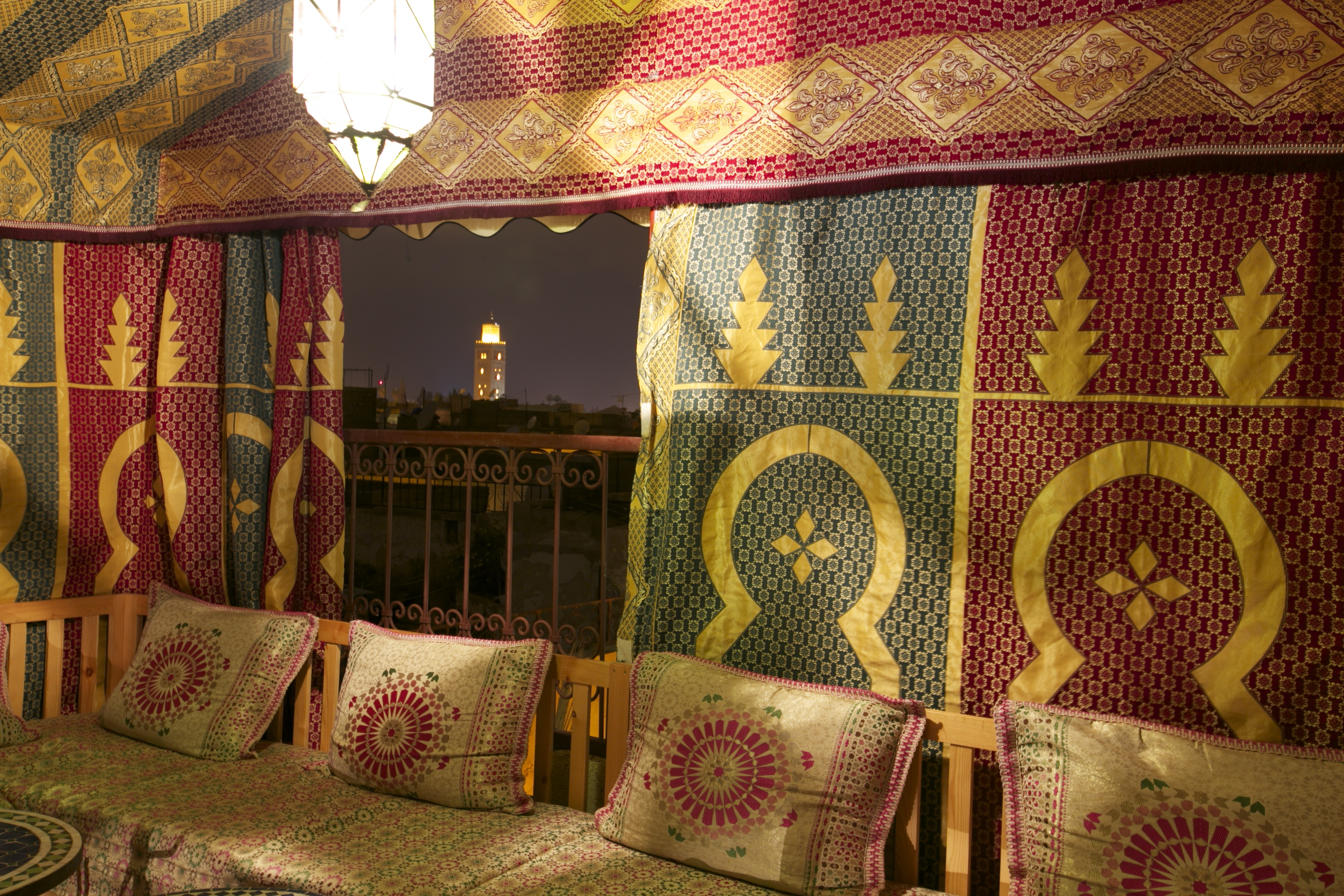 Riad Africa - Roof Terrace Tent (2)