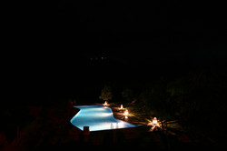 Kasbah Africa Pool In The Dark
