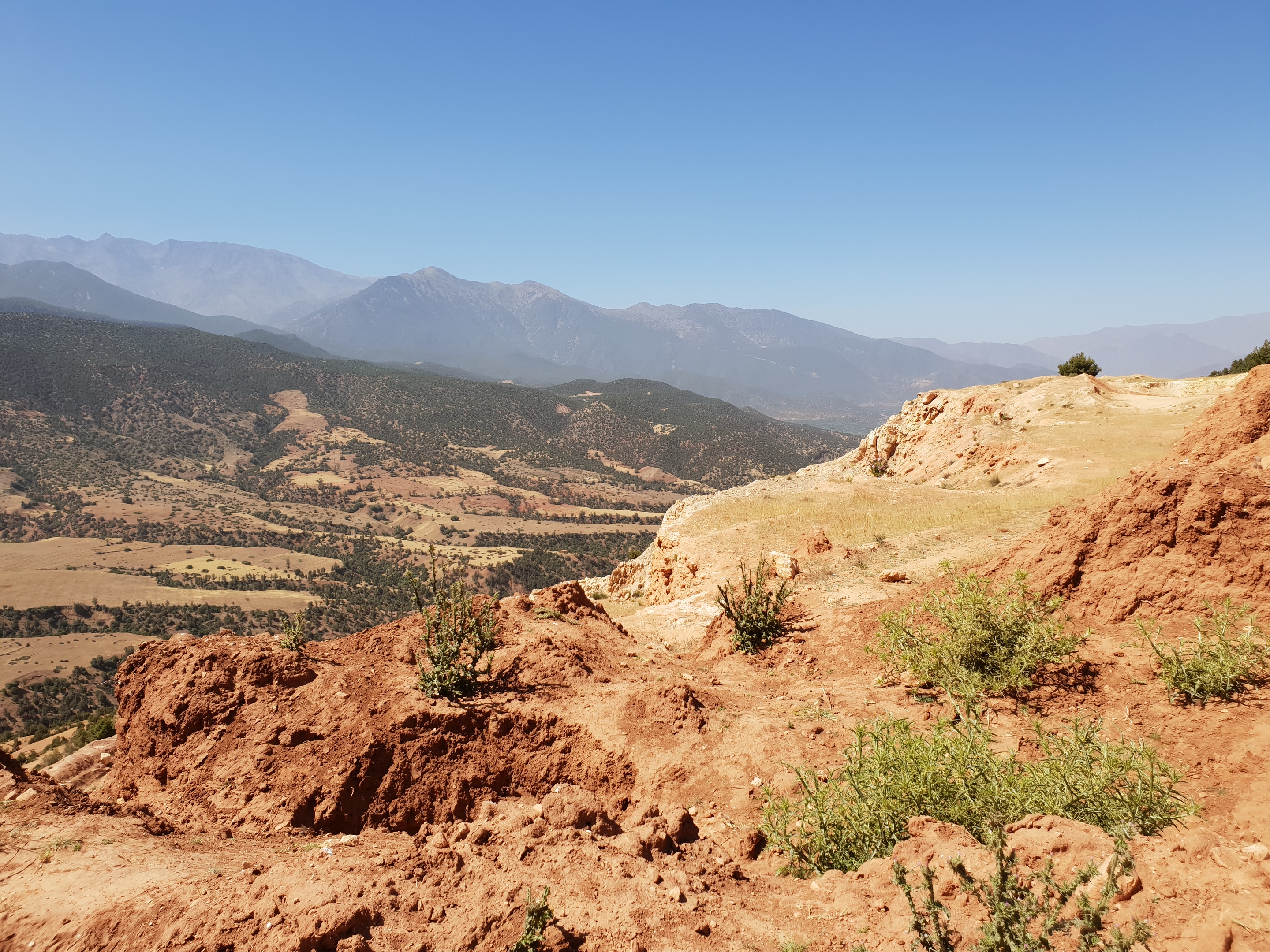 Atlas Mountains from Kik Plateau