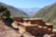 Berber village near Kasbah Africa