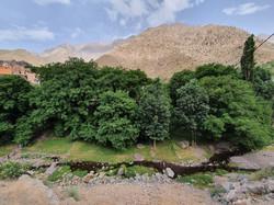 River below Aremd