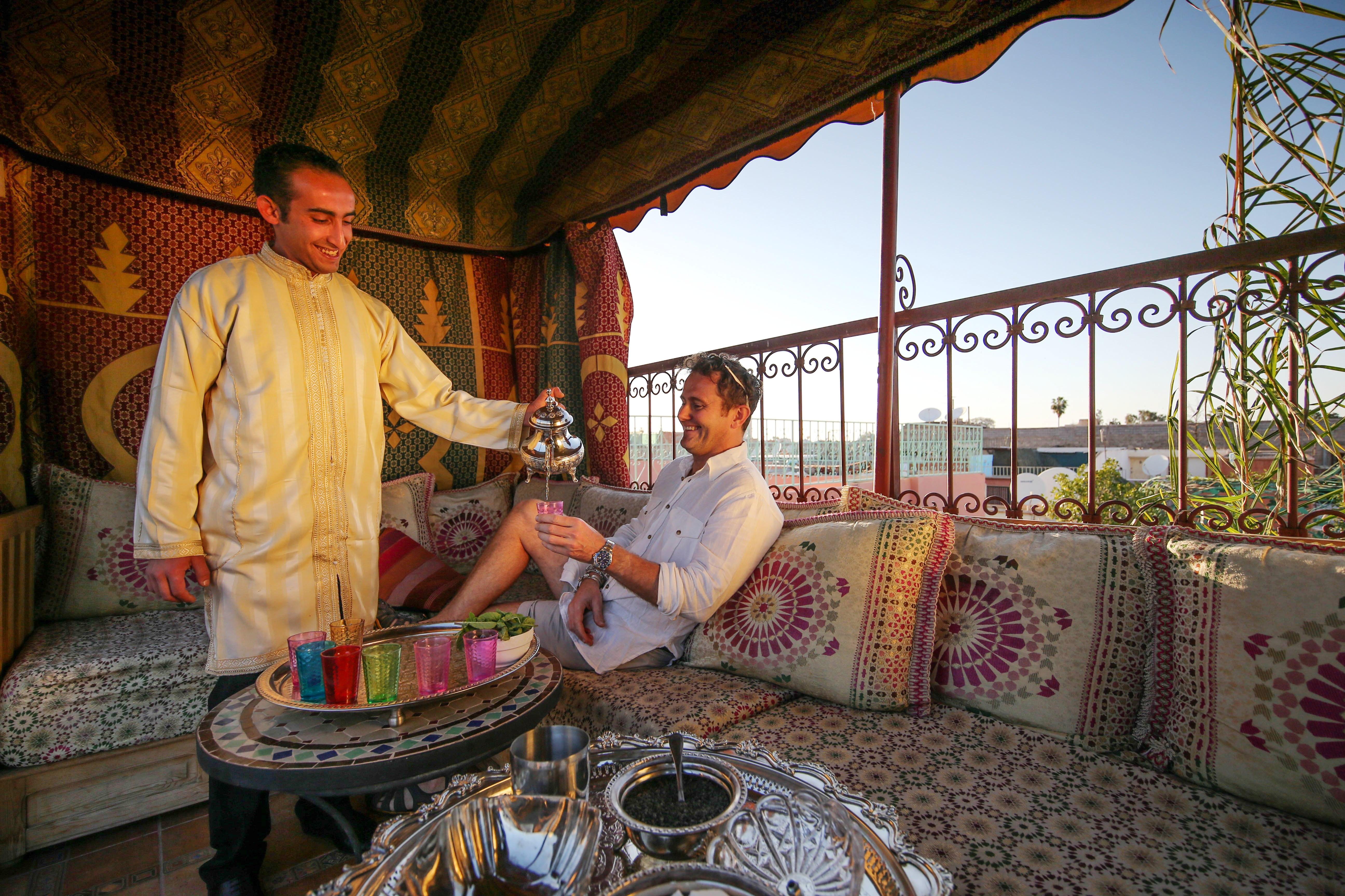 Marrakech Riad Africa Terrace Tent