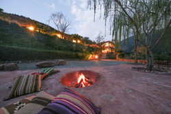 Fire Pit at Kasbah Africa