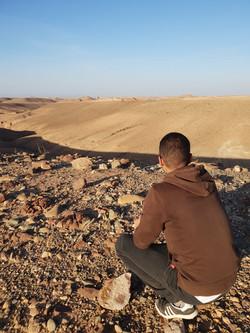 Nkhila Camp Desert Walk (1)