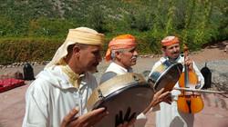 Musicians at Kasbah Africa