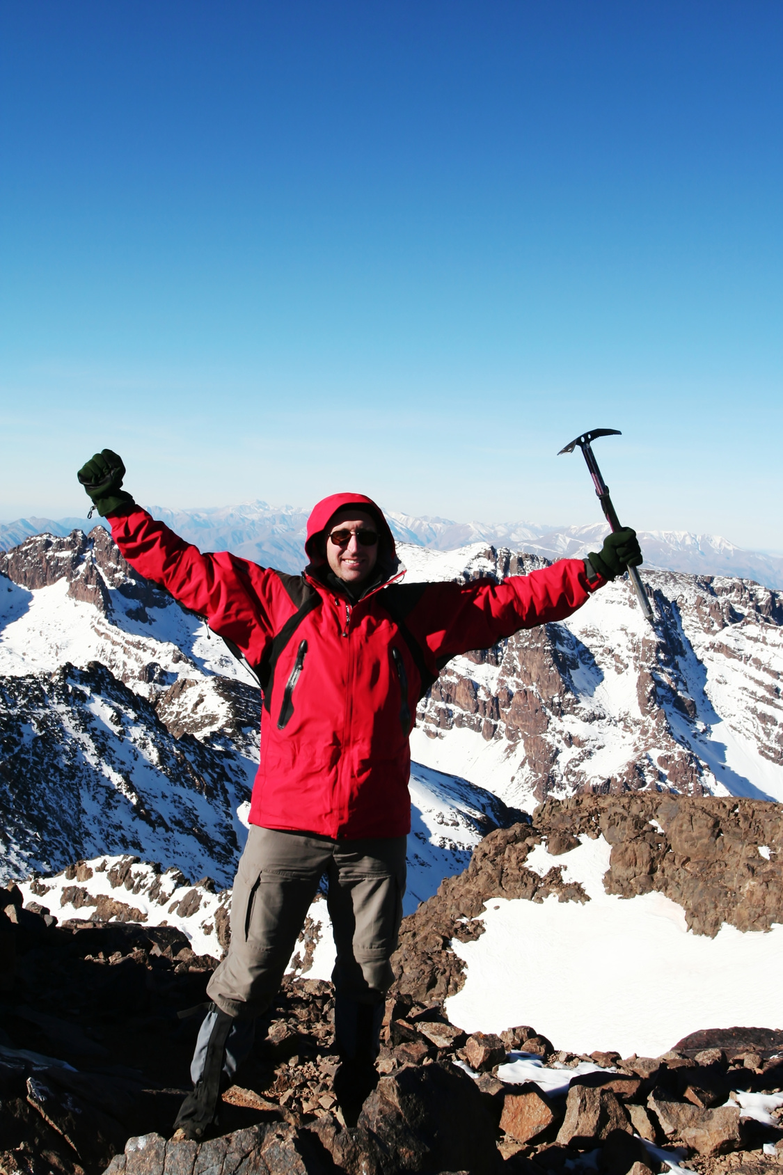 On top of Toubkal