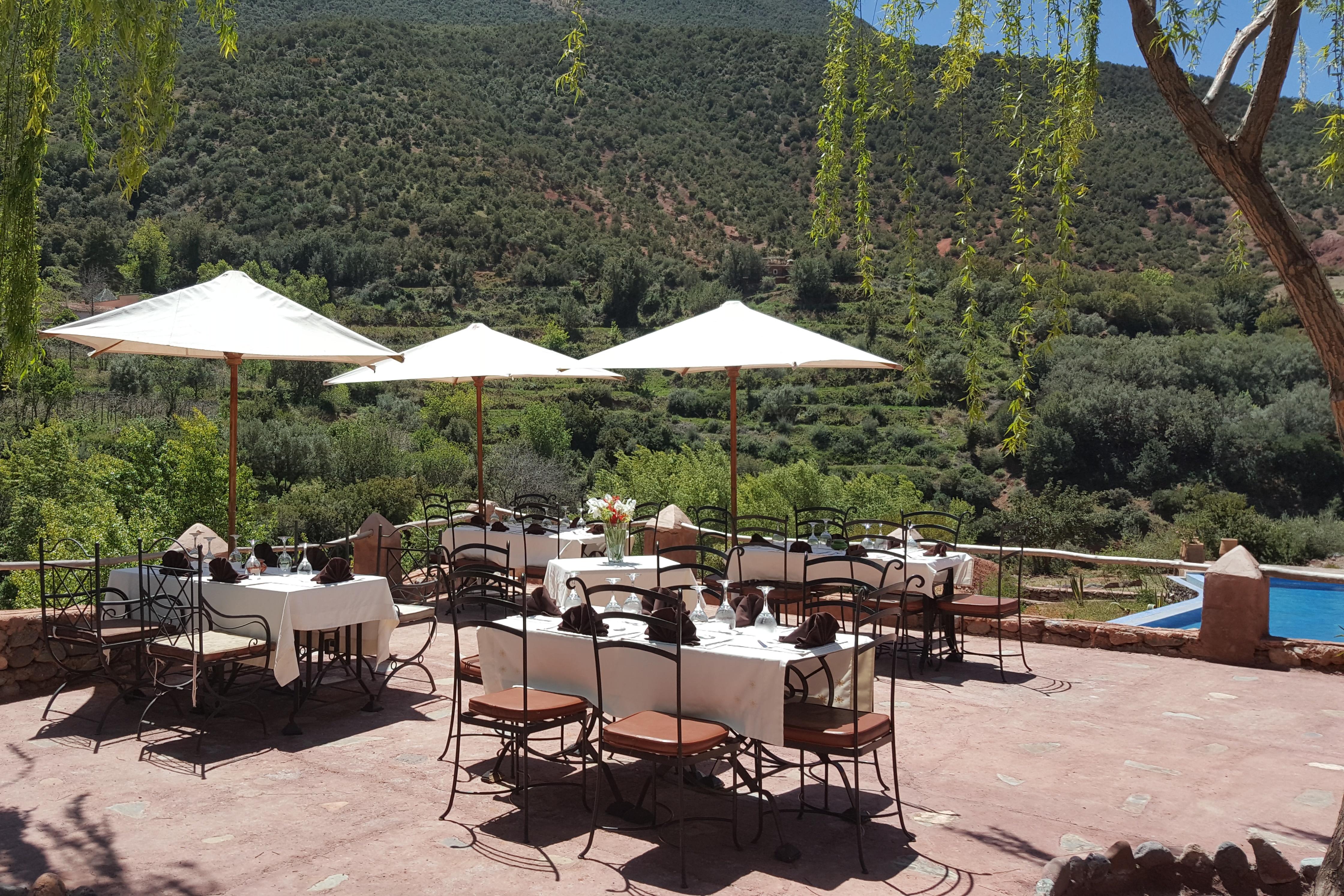 Outdoor Dining Kasbah Africa