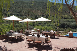 Outdoor Dining Kasbah Africa