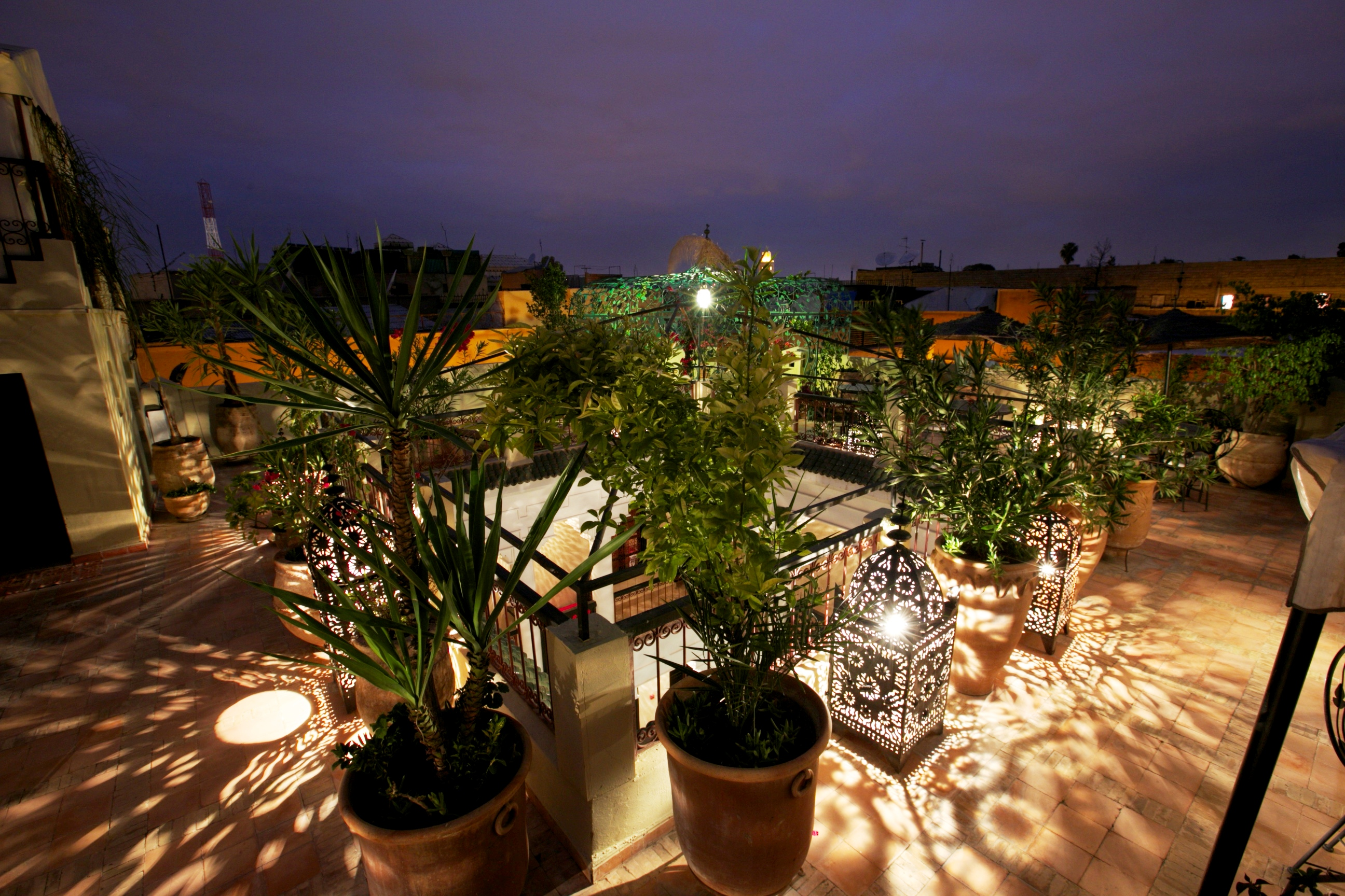 Riad Africa - Roof Terrace (1)