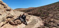 Eastern Agafay Desert Wadi