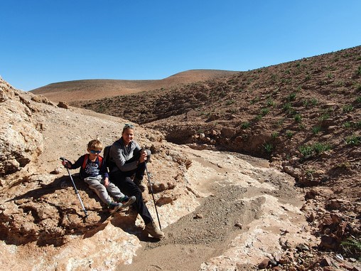 Guided Walk in Eastern Agafay Desert