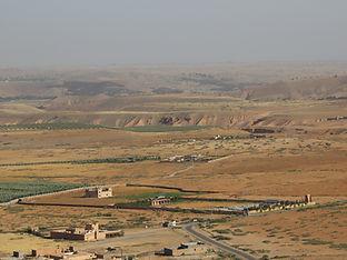 Agafay Desert from Kik Plateau