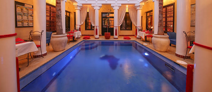Riad Africa dipping pool