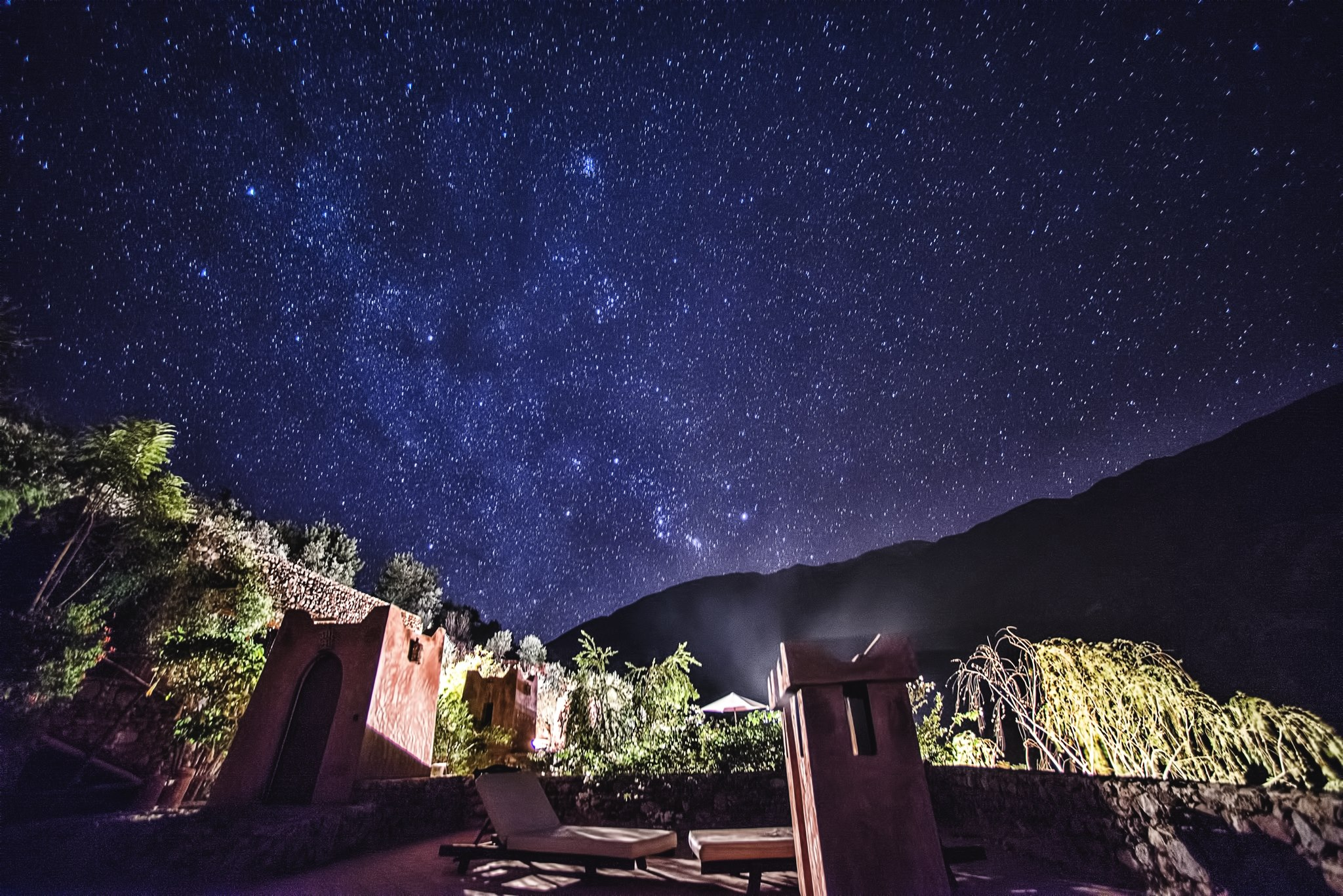 Kasbah Africa - Star-filled Sky