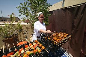 BBQ on Riad Africa Sun Terrace