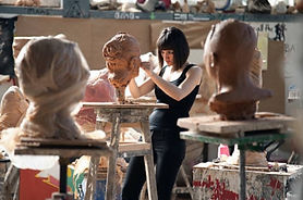 rzezba sculpture workshops in the mounta