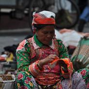 wyrób tradycyjnego rękodzieła w Chinach