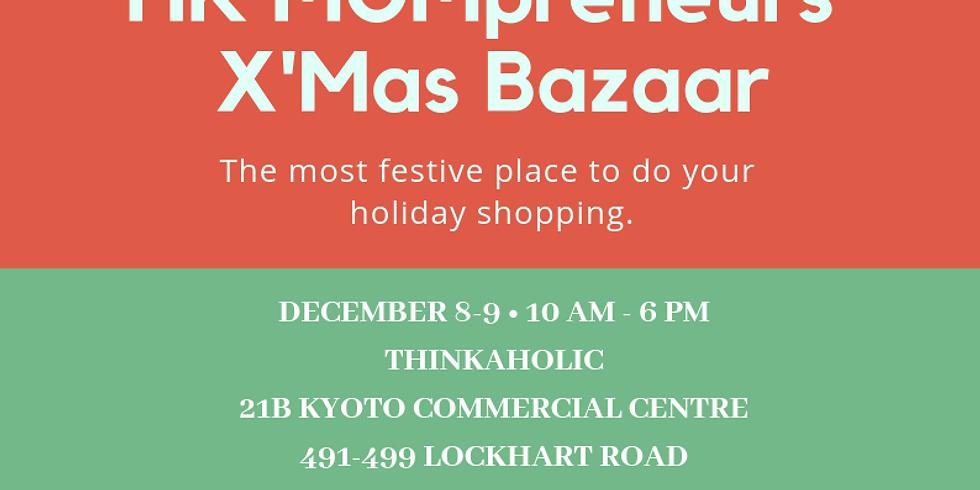 HKMOMpreneur's first X'mas Bazaar